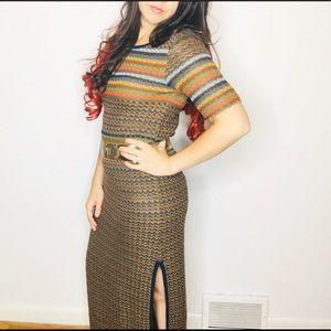 Peruvian Connection 100% Prima Cotton Knit Dress